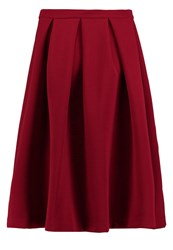 Kiomi Aline Skirt Red Bordeaux
