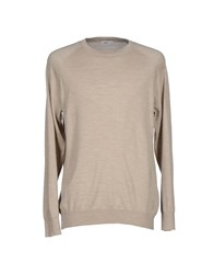 Closed Knitwear Jumpers Men Beige