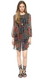 Love Sadie Patchwork Gypsy Dress Black Gypsy