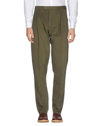 Christian Dior Homme Casual Pants Military Green