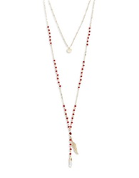 Catherine Stein Layered Pendant Necklace