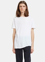 Valentino Oversized Round Neck T Shirt White