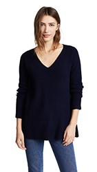 M.Patmos Volcan V Neck Sweater Navy