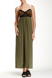 Vpl Convexity Breaker Maxi Dress Green
