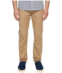 Jack Spade Stonehill Slim Fit Five Pocket Trousers Dark Khaki Men's Casual Pants