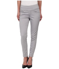 Jag Jeans Amelia Pull On Slim Ankle In Bay Twill Grey Morn Women's Casual Pants Beige