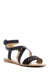 Franco Sarto Georgetta Braided Strap Sandal Black