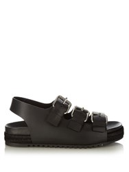 Alexander Wang Colin Leather Sandals Black