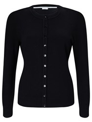 John Lewis Crew Neck Cardigan Black