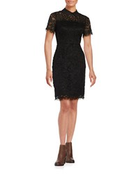 Karl Lagerfeld Collared Lace Dress