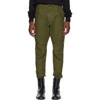 R 13 R13 Green Surplus Military Cargo Pants