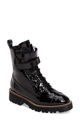 Shellys Women's London Tyra Combat Boot