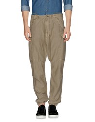 R 13 R13 Trousers Casual Trousers Military Green