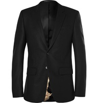 Givenchy Black Wool And Cashmere Blend Blazer