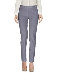 Incotex Red Casual Pants Lilac