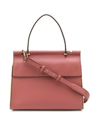 Michael Kors Collection Jasmine Medium Satchel Pink