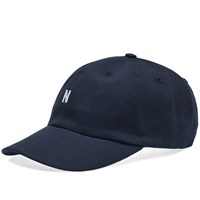 Norse Projects Twill Sports Cap Blue