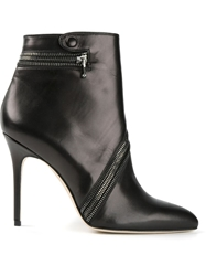 Brian Atwood 'Nebula' Ankle Boots Black