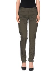 Woolrich Trousers Casual Trousers Women Military Green