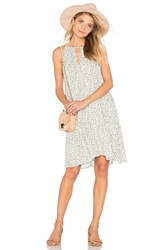 Bella Dahl Handkerchief Halter Dress White
