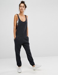 Sol Angeles Jumpsuit Charcoal Grey