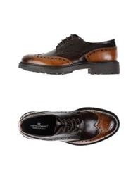 Ciro Lendini Lace Up Shoes Dark Brown