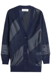 Sonia Rykiel Cardigan With Satin Blue