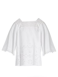 Max Mara Catone Top White