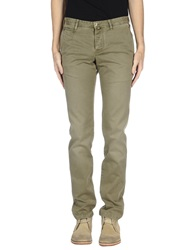 Icon Casual Pants Military Green