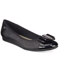 Anne Klein Sport Aricia Flats Only At Macy's Black Sparkle