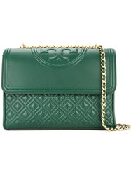 Tory Burch Fleming Convertible Shoulder Bag Green