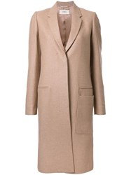 Ports 1961 Concealed Fastening Coat Brown