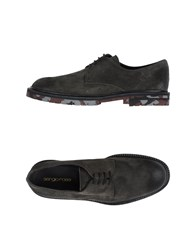 Sergio Rossi Footwear Lace Up Shoes Men Lead