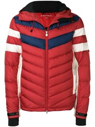 Perfect Moment Chatel Padded Jacket Red