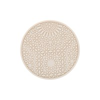 Images D'orient Round Urban 02 Coaster Pearl