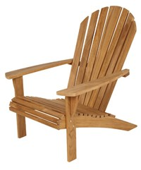 Barlow Tyrie Adirondack Teak Armchair None Brown