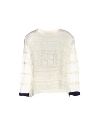 Boy By Band Of Outsiders Short Sleeve Sweaters Ivory