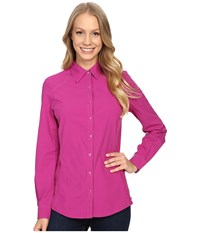 Kuhl Wunderer L S Shirt Orchid Women's Long Sleeve Button Up Purple