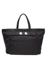 Anya Hindmarch Eyes Large Tote Bag Black
