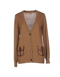 Galliano Knitwear Cardigans Women Camel