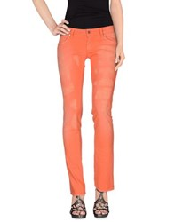 Met In Jeans Denim Denim Trousers Women Orange