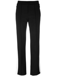 Moncler Piped Seam Track Pants Black
