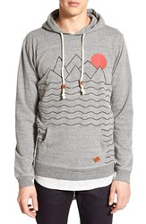 Men's Altru 'Mountains And Sun' Graphic Hoodie