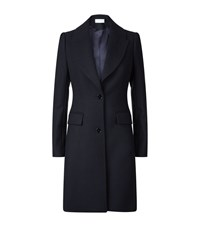 Reiss Tamara Tailored Long Coat Female Black