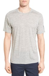 Ibex Men's Regular Fit Overdyed Merino Wool T Shirt