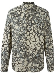 Christopher Kane Geometry Print Shirt Multicolour