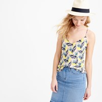J.Crew Tall Carrie Cami In Spring Meadow