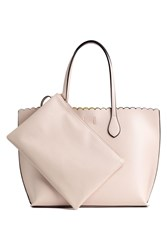 Handm Shopper Clutch Beige