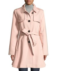 Kate Spade Belted Rain Trench Coat Pink