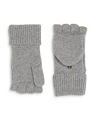 Rag And Bone Keighley Cashmere Fingerless Gloves Black